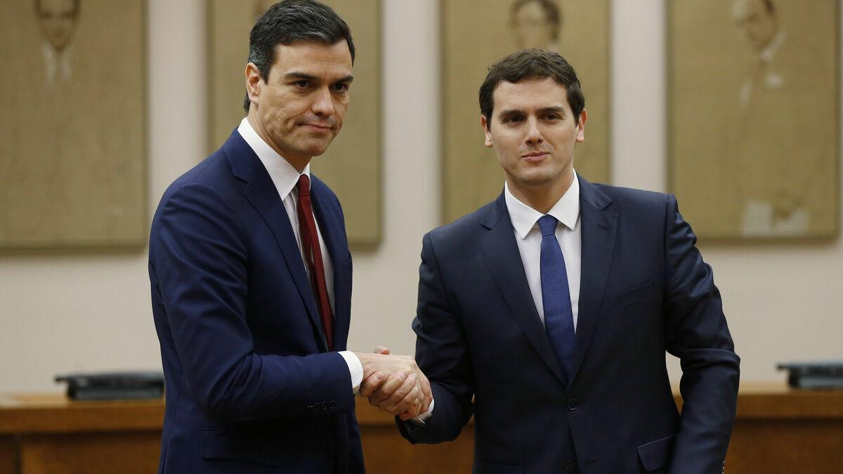 ALBERT RIVERA Y EL JEFE DE LA BANDA